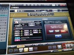 於JGP各場賽事中,玩家可給予騎師指示。
