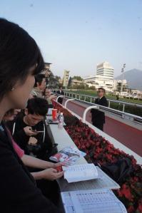 racing fans