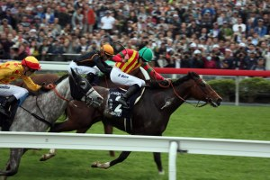 「步步友」在最後100米乏力,證明馬匹內在有問題。 Source: HKJC