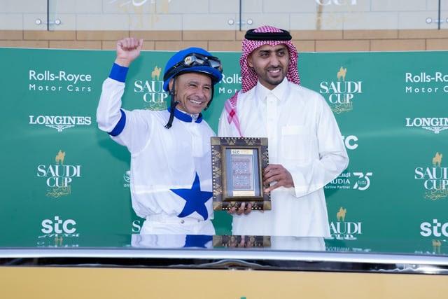 史文夫先勝沙地阿拉伯國際騎師挑戰賽