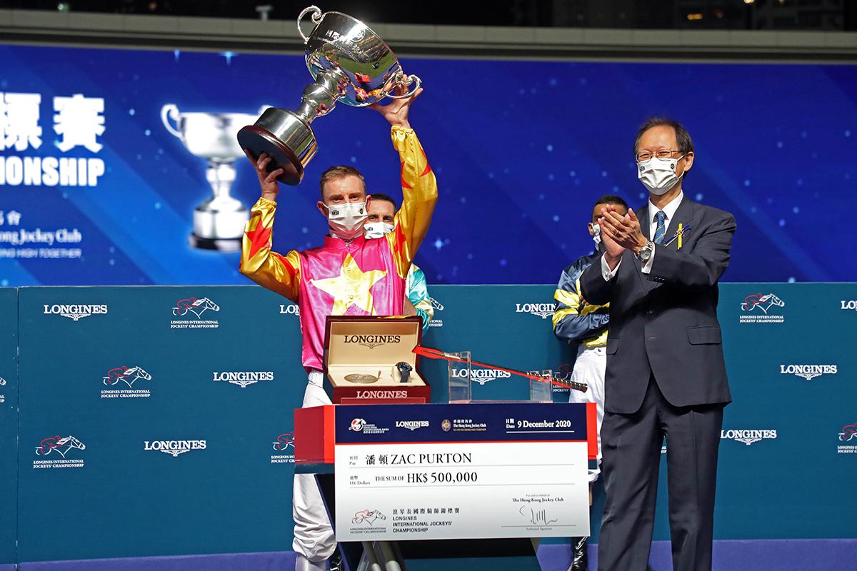 國際騎師錦標賽,潘頓低迷下重新復活奪冠!