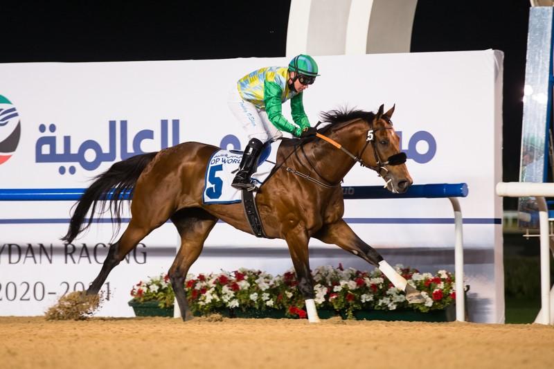 杜拜世界盃嘉年華第三週,顧偉樂憑Mouheed贏出阿聯酋二千堅尼,胸懷大志美丹亦能贏分級賽