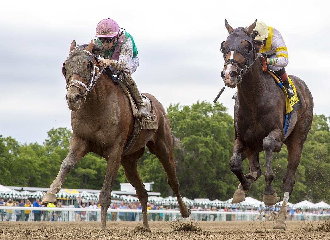 每日賽馬晚報(2021年6月14日),寶塚紀念賽再出現有馬迷支持的謎之賽駒,「打吡冠軍」Mandaloun贏表列賽