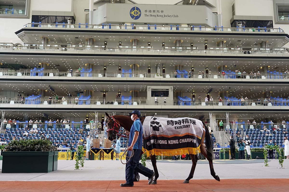 每日賽馬晚報(2021年6月26日),裏海世子12歲照在高班賽贏馬,Incentivise長途賽大勝12個馬位