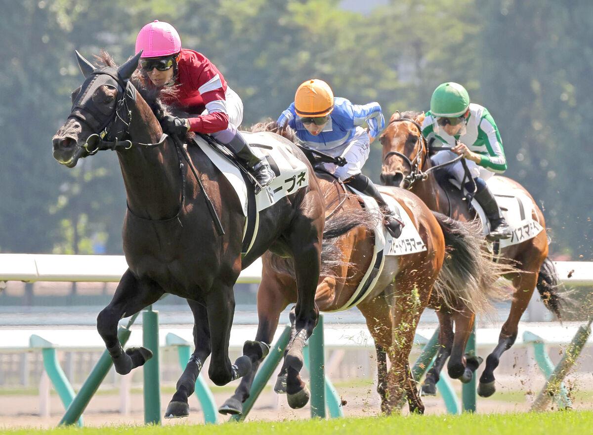 4億7千萬日圓身價馬初出輕勝,藤田晉馬主初勝利